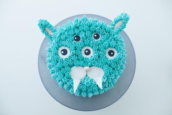 3-Eyed Monster Cake: Member Project on Bluprint.com