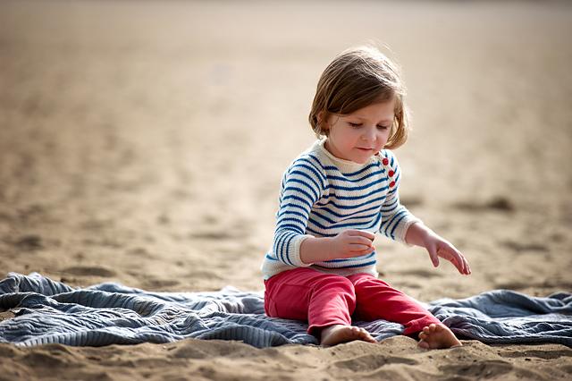 Striped Beach Sweater - Bluprint Pattern