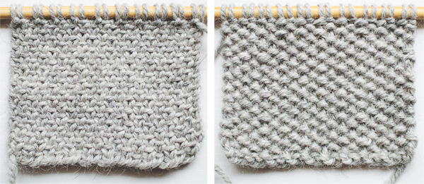 Swatch of Solid Linen Stitch