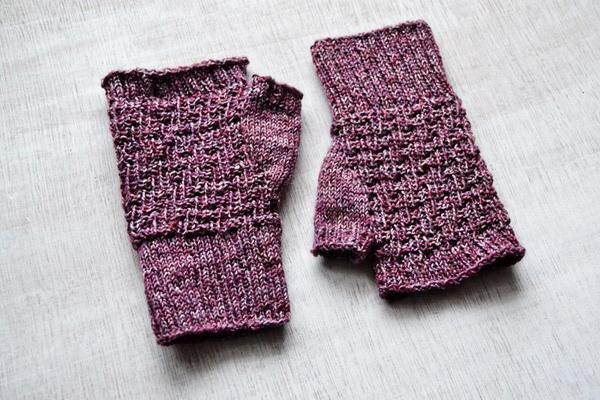Pina Fingerless Gloves - Craftsy