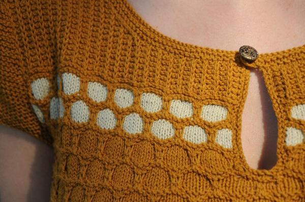 Hexa Sweater - Pattern on Craftsy