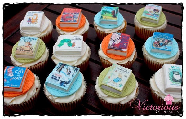 Storybook Fondant Cupcake Toppers