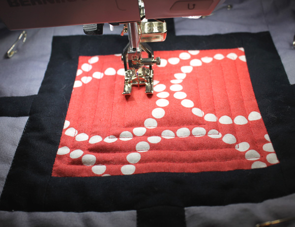 free motion quilting on a regular sewing machine