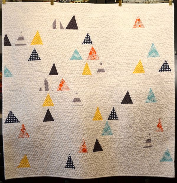 Triangle City Quilt