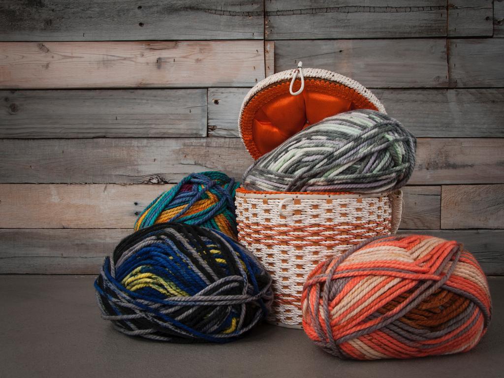 Skeins of Bright Schachenmayr Yarn - Craftsy