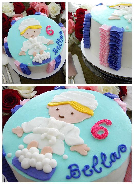 Cute Spa Cake