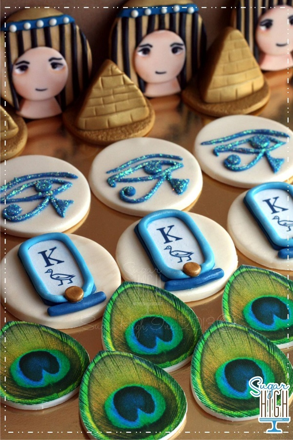 Egypt Themed Cupcake Toppers