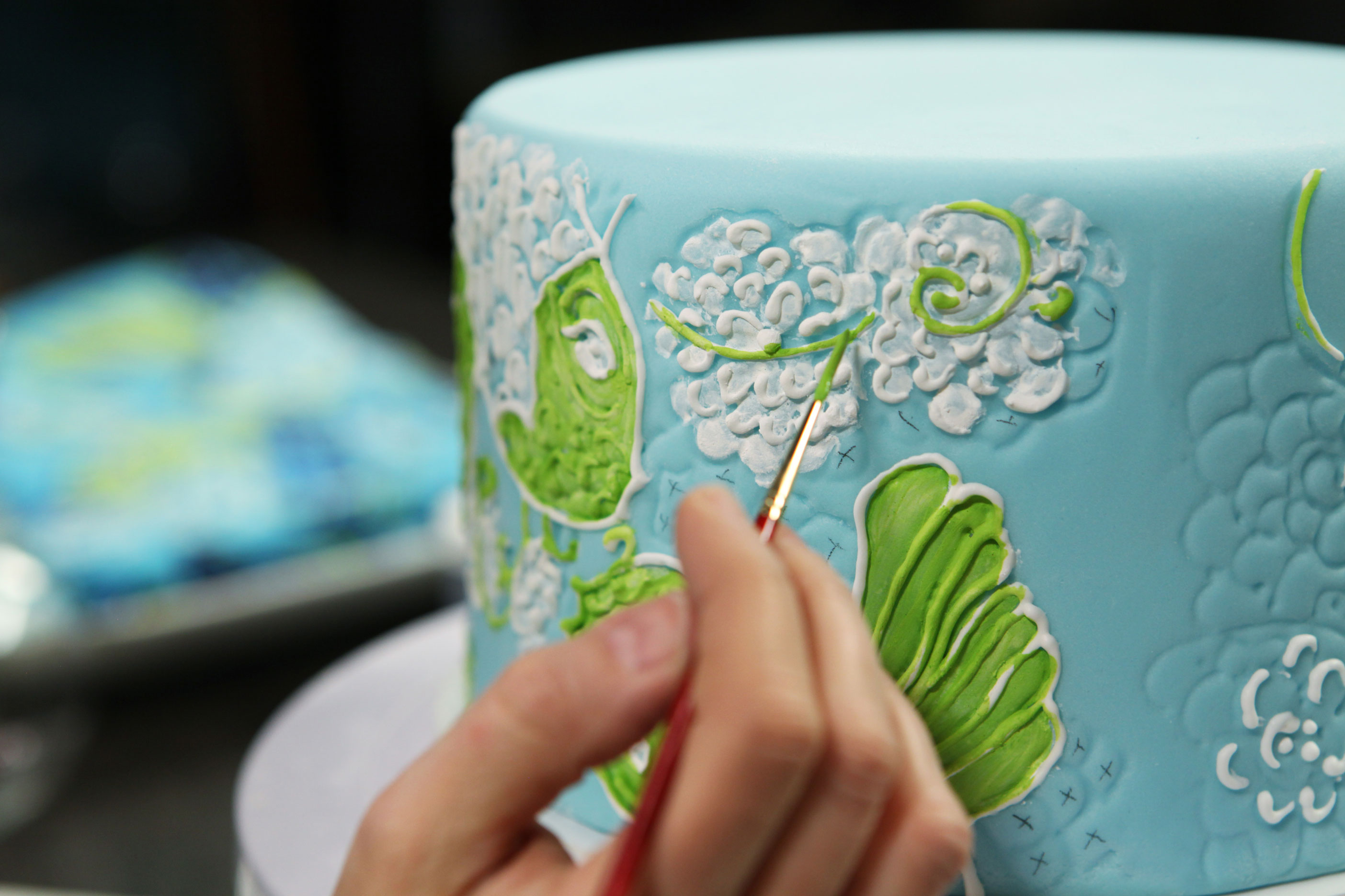 Hand-Painting Cakes: Cake Painting Class on Bluprint.com