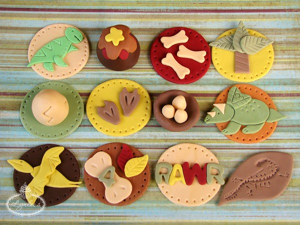 Prehistoric Cupcake Toppers