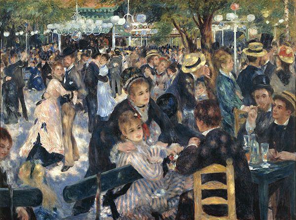 """Renoir's """"Le Moulin de la Galette"""""""