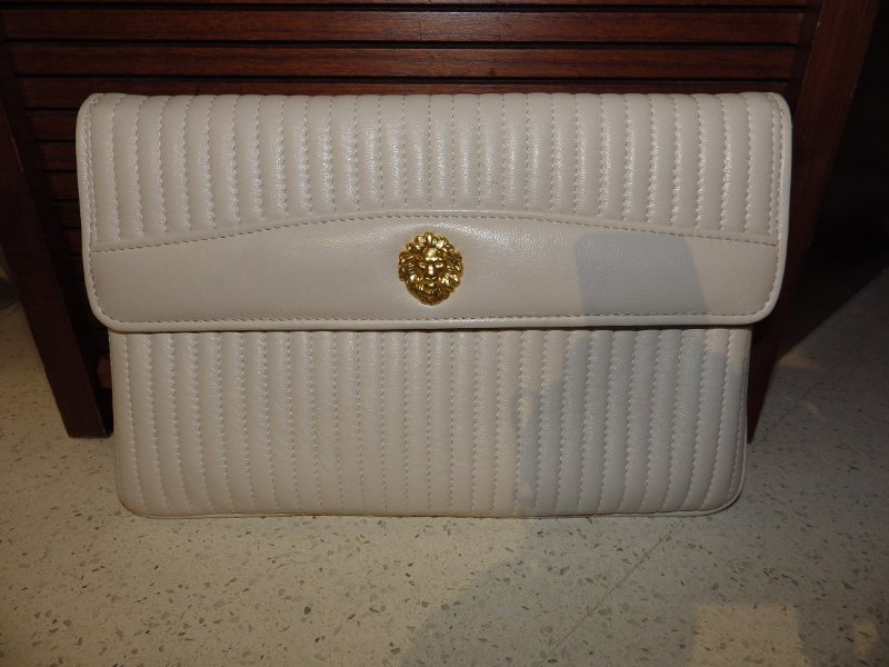 Anne Klein Channel Stitched Purse