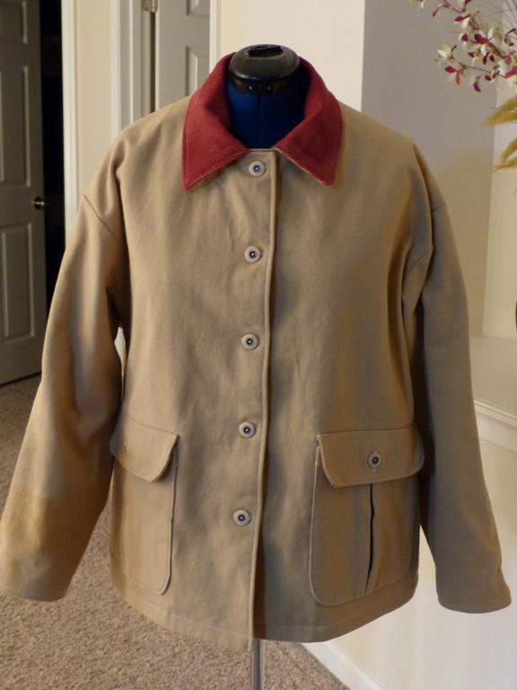 Barn Jacket with Bellows Pockets