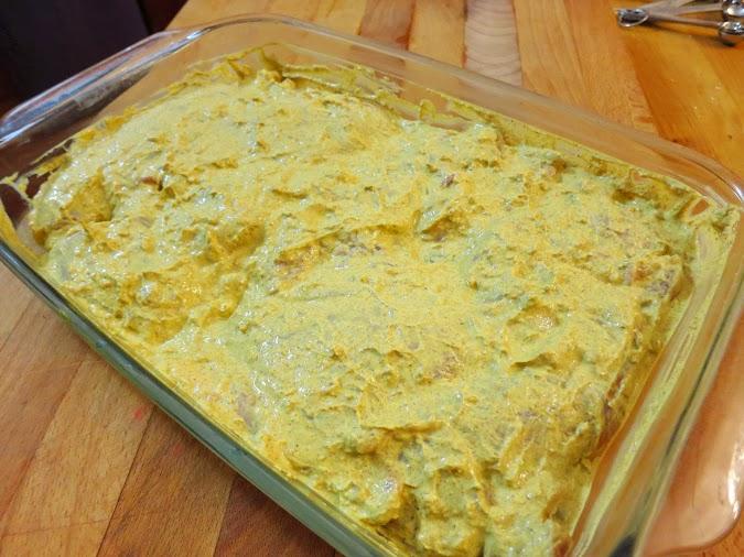 Yogurt marinade for chicken tikka masala