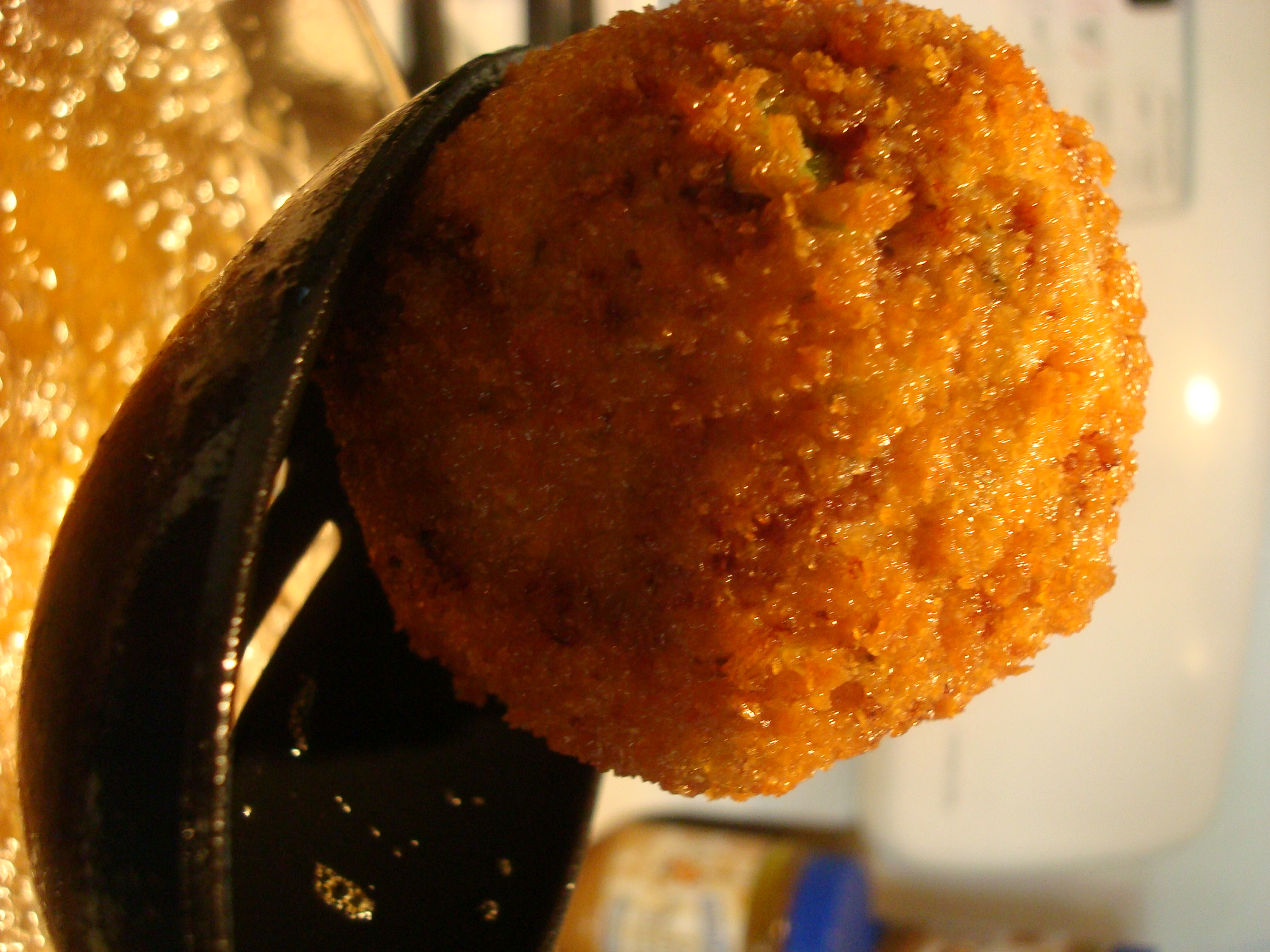 Fried and Finished Scotch Eggs