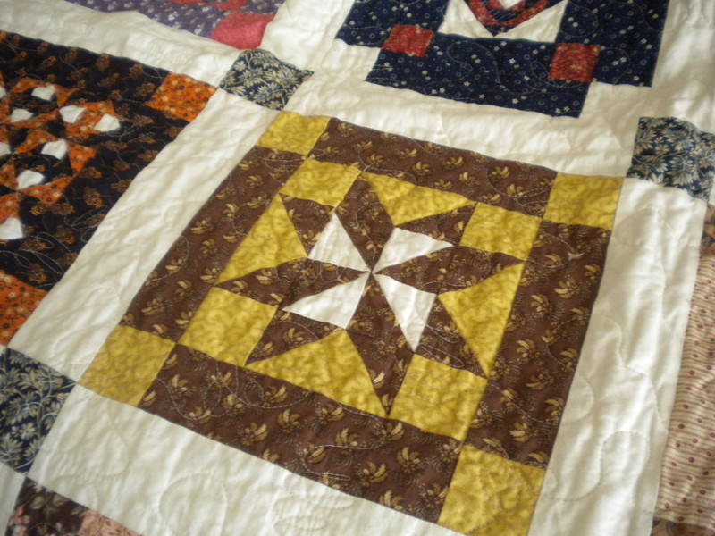 Quilt with Star Block