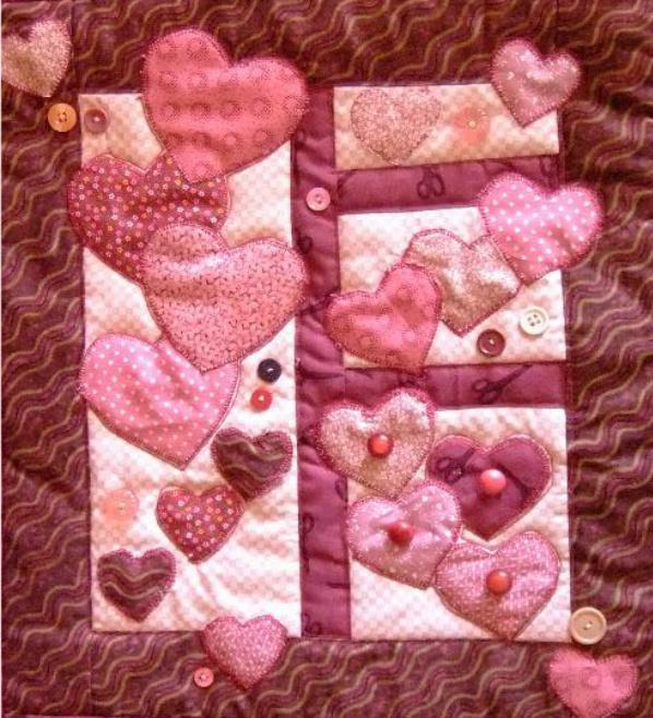 Hearts Galore Quilt - Craftsy.com