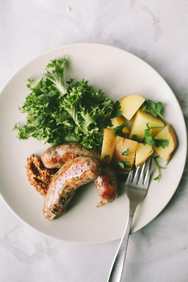 Homemade Sausage Meal