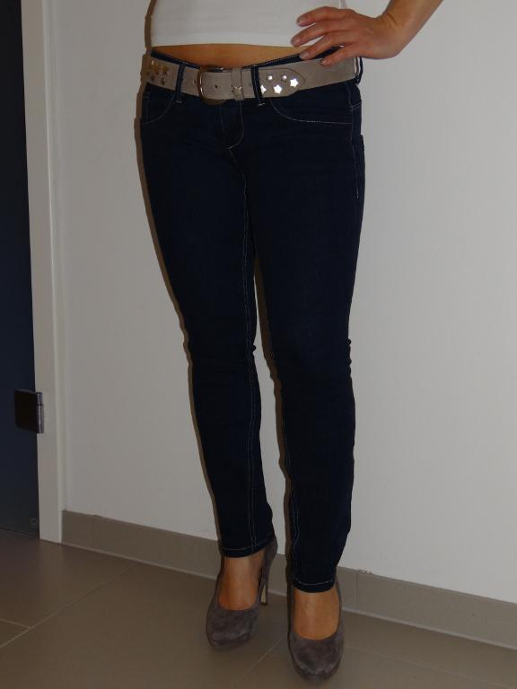 Jeans on Woman