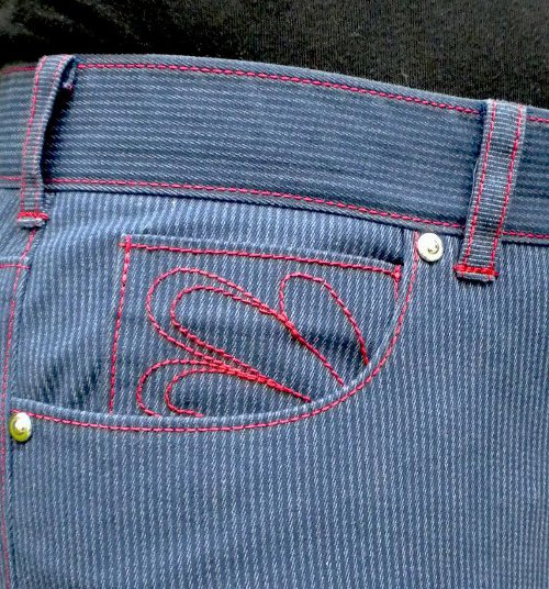 Jeans Coin Pocket