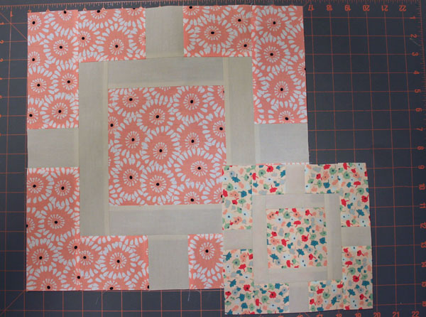 Two Mini Quilt Blocks - Tutorial on Bluprint.com