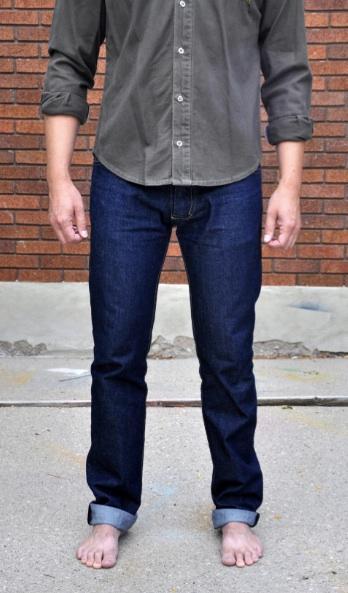 Jeans on Man