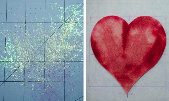 Glitter and Heart