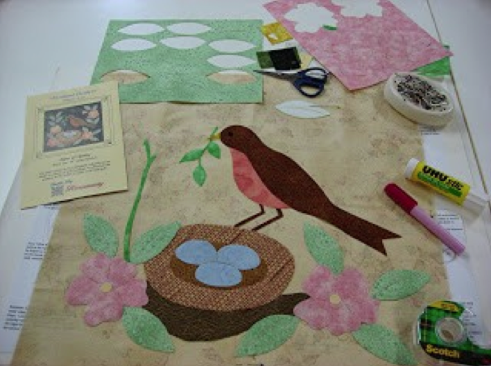 Various Tools for Using Pre-Fused Appliqué