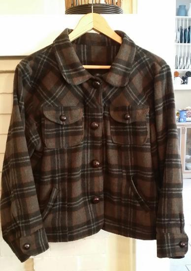 Craftsy Member's Homemade Wool Shirt