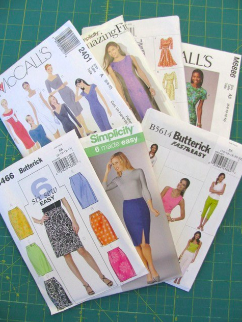 Collection of Basic Sewing Patterns