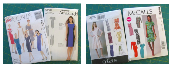 McCall's and Simplicty Dress Sewing Patterns