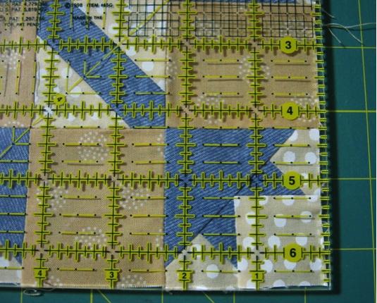 A Quilt Block Made a Bit Too Short