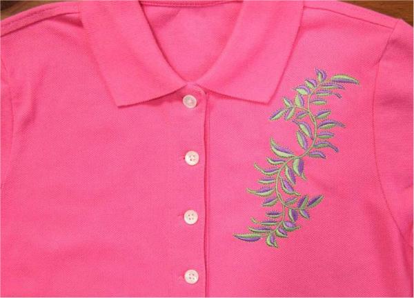Golf Shirt Embroidery on Bluprint.com