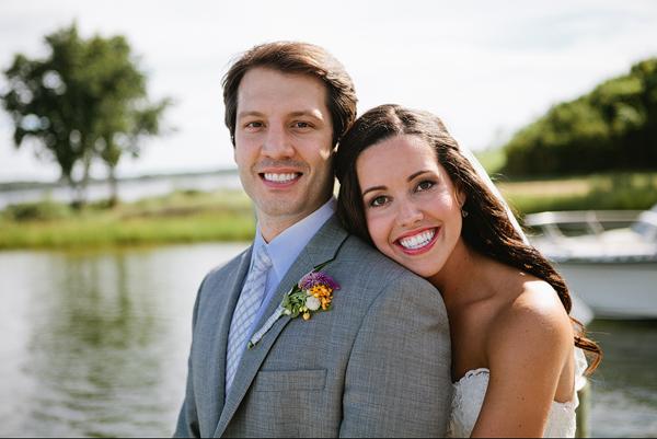 Essential Wedding Pose: Head on His Shoulder - Bluprint.com