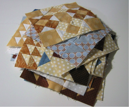 Stack of Quilt Blocks