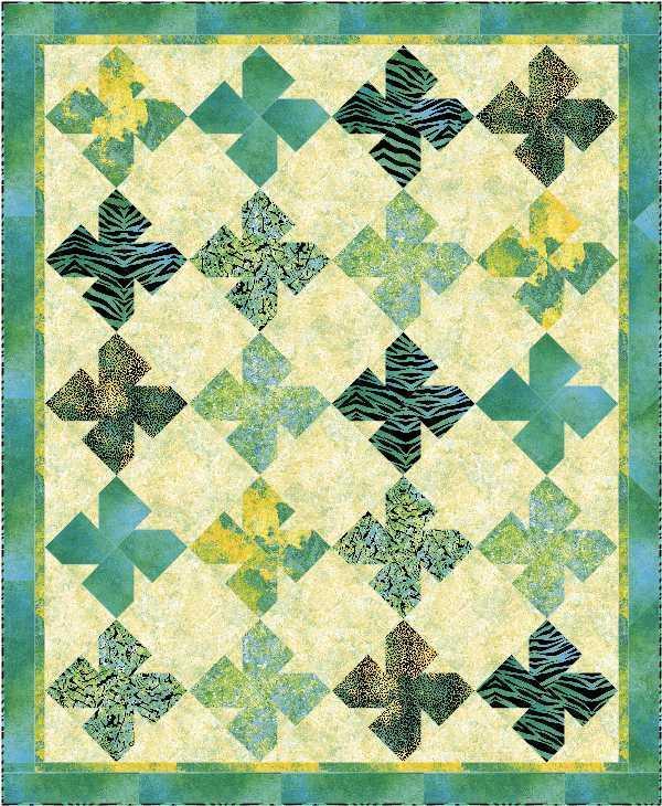 St. Patrick's Day Quilt on Bluprint.com