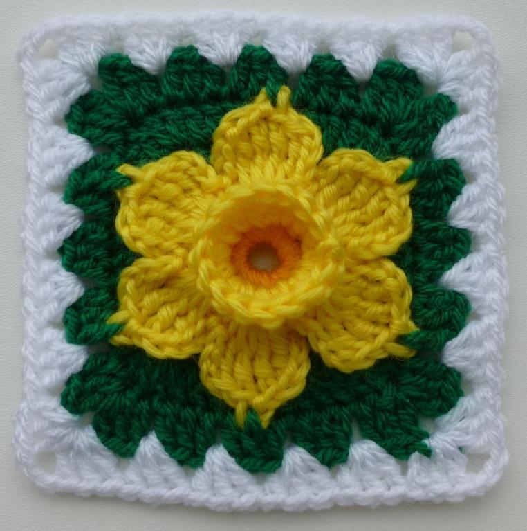 Daffodil granny square