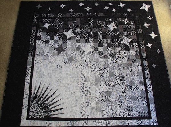 Asymmetrical stars Quilt - Member Pattern on Bluprint