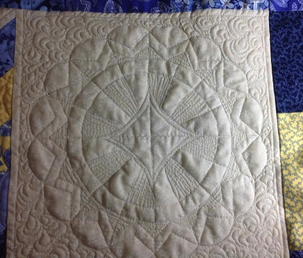 Sunshine and Shadow Quilt Block
