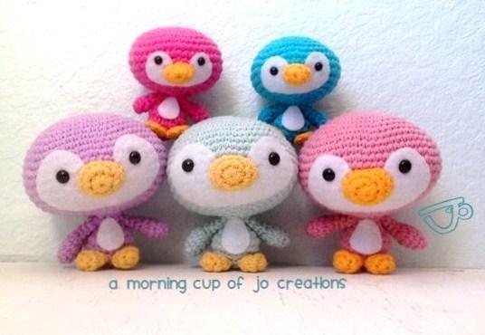 Crochet penguin family - Pattern on Bluprint.com