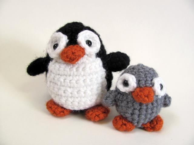 Amigurumi crochet penguin - Pattern on Bluprint