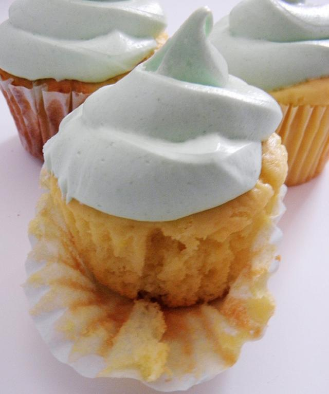 Cupcakes Topped with Yogurt - craftsy Member Project