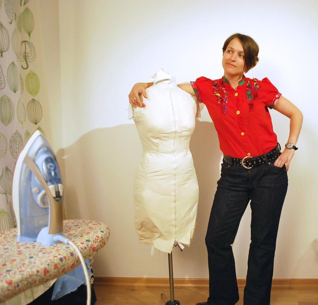 Woman Modeling Jeans
