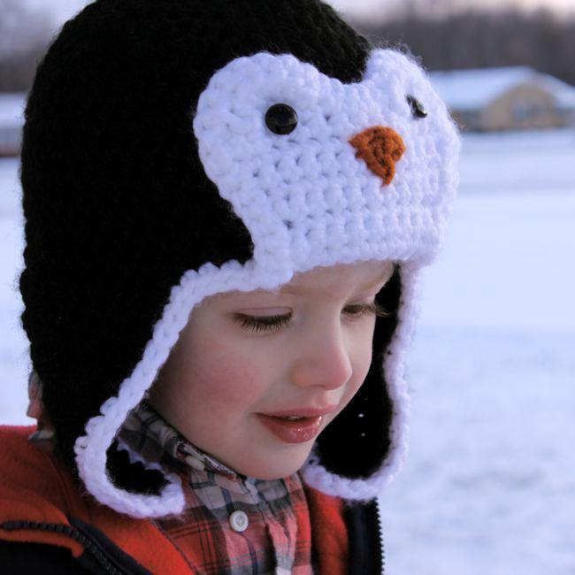 Crochet penguin hat pattern - Bluprint Member Pattern