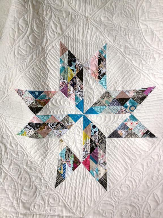 Breaking Clouds Star Quilt Pattern
