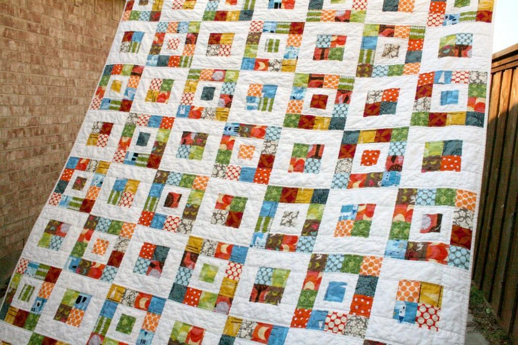 Jelly Roll Quilt - Pattern by Craftsy Member