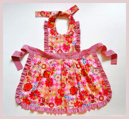Colorful Apron - Free Sewing Pattern