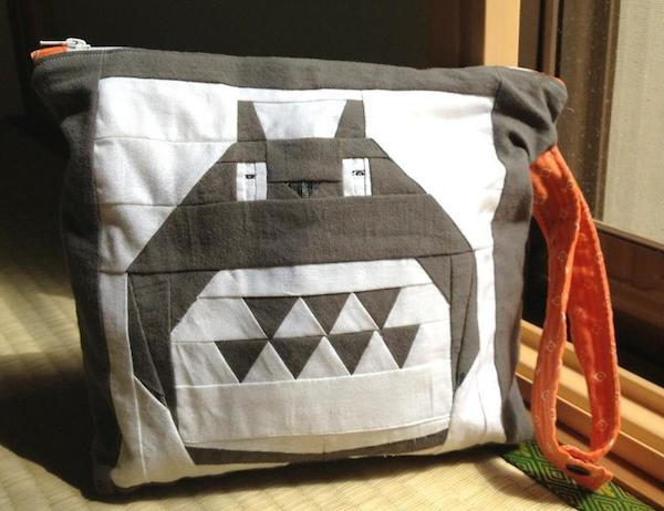 Paper Pieced Anime Inspired Bag