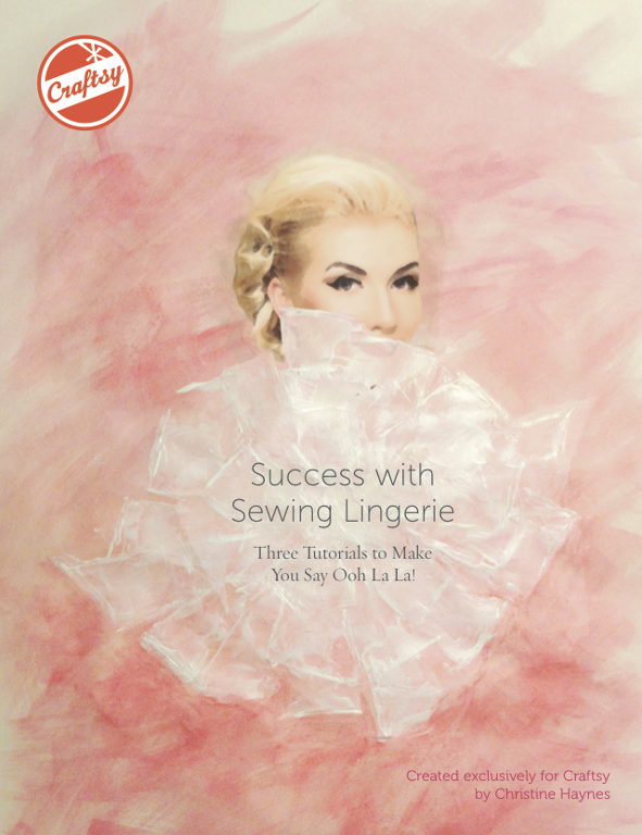 Cover for Lingerie Sewing Tutorial