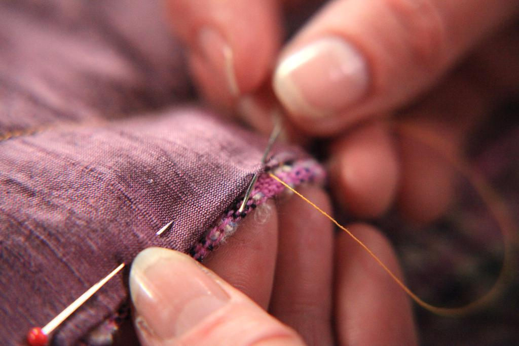 Hand-Sewing a Jacket