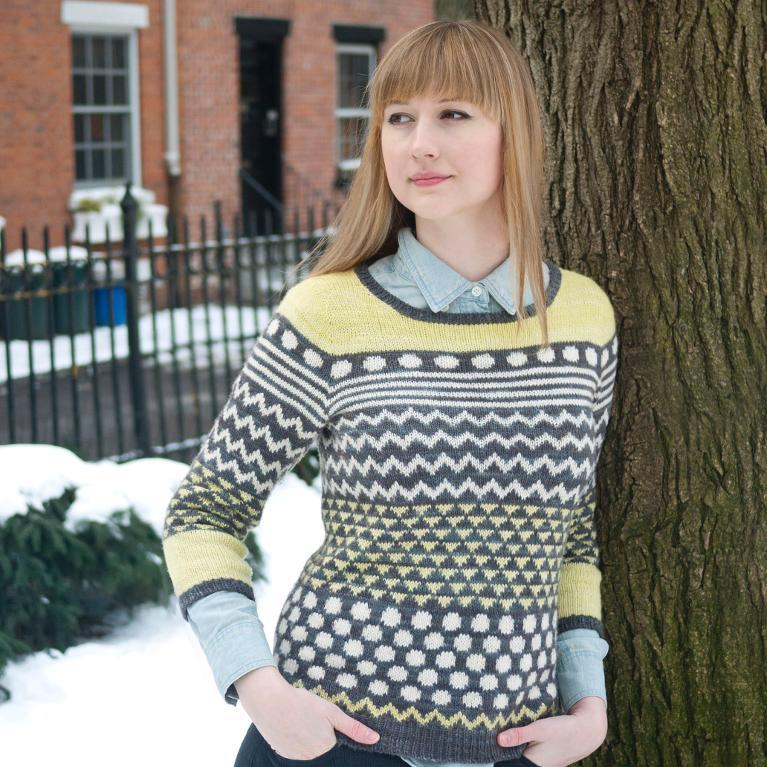 Knit Brewster pullover - Pattern on Bluprint.com